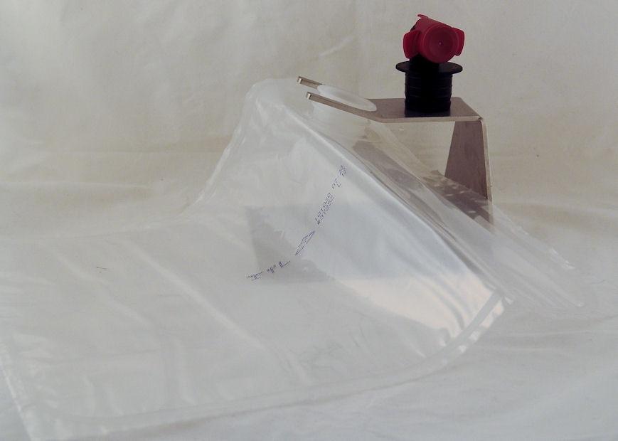 100 Piece 5 Litre Bag In Box Carton in Bourdeaux 1,09 €//1Stk