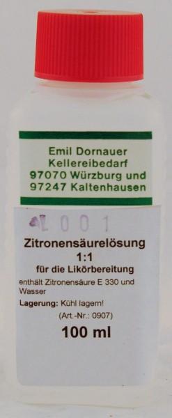 Zitronensäure flüssig / 100 ml