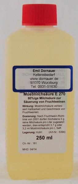 Mostmilchsäure 250 ml