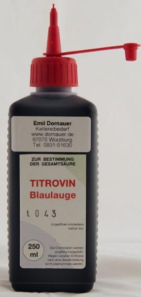 Titrovin-Blaulauge / 250 ml
