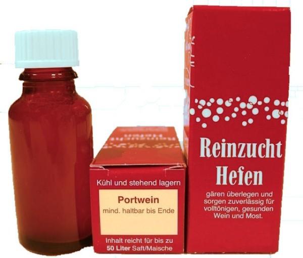 Portwein-Reinzuchthefe für 50 Liter