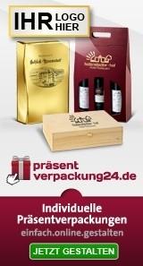 Präsentverpackung mit Ihrem Logodruck