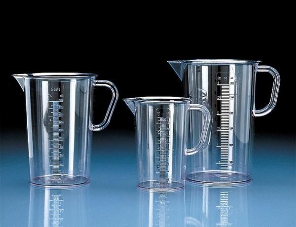 Messbecher Glasklar 3 Liter