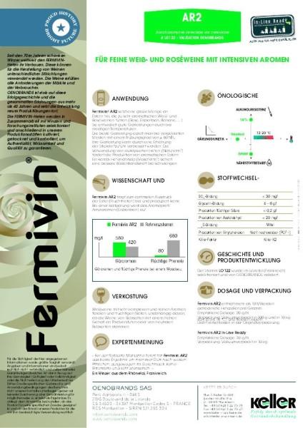 Fermivin AR 2 Weinhefe
