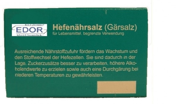 Hefenährsalz / 5 x 2 gr.