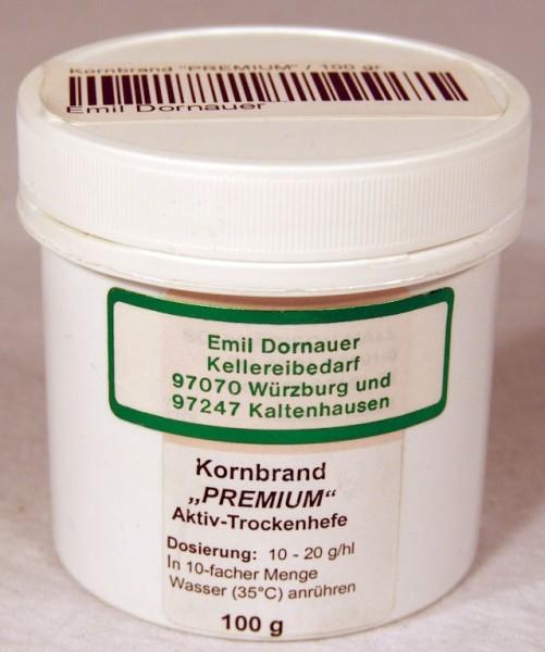 """Kornbrand """"PREMIUM"""" Kornhefe 100 gr"""