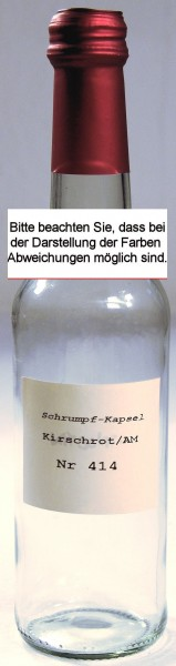 Kapsel     (414)     Kirschrot