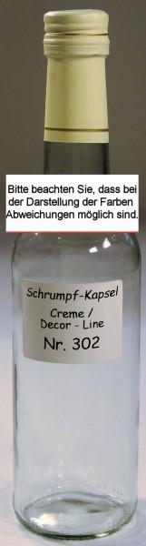 Kapsel     (302)     Creme m. Goldstreifen