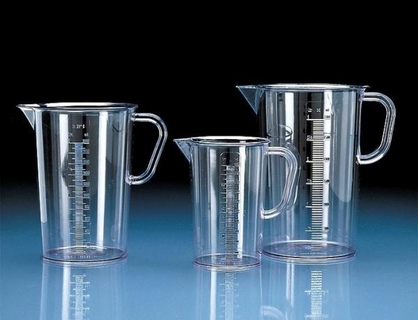 Messbecher Glasklar 0,5 ltr